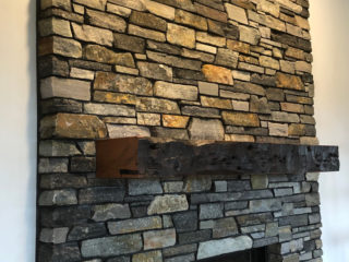 Sammamish Double Sided Fireplace