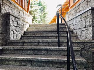 North Bend Granite Steps & Firepit